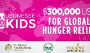 เจอเนสส์ โกลบอล บริจาค $300,000 USD ให้กับองค์กรธนาคารอาหารโลก